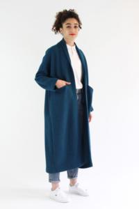 Patron de couture Artemis - version manteau long