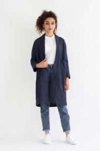 I AM Patterns - patron couture veste Artemis variante trench vue devant