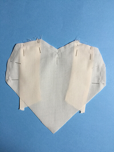 I AM Patterns - sewing pattern heart shape dress top celeste tutorial step 9