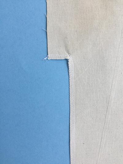 I AM Patterns - Sewing Pattern Sirius jumper tutorial - step 1