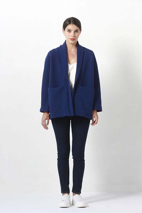 I AM Patterns - Women sewing pattern - Artemis jacket - front