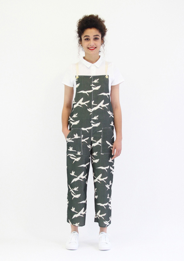 I AM Patterns - ladies sewing patterns - Colibri dungarees