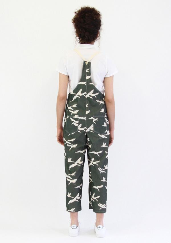 I AM Patterns Colibri I AM Patterns Patron Couture Femmes Salopette Colibri Longue Dos