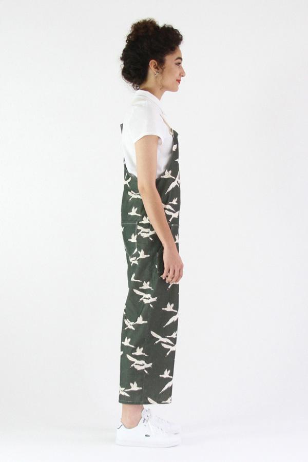 I AM Patterns Colibri I AM Patterns Patron Couture Femmes Salopette Colibri Longue Profil