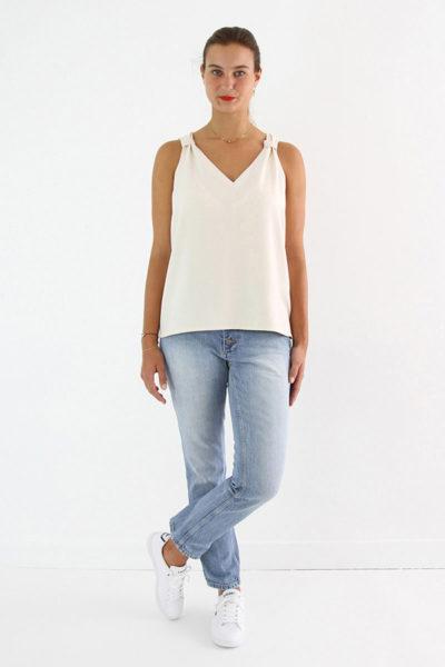 I AM Patterns Patron Couture Gaia Debardeur simple devant