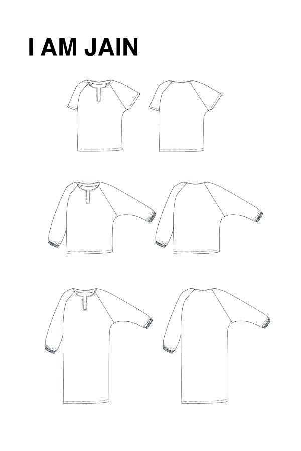 I AM Patterns Jain Blouse Robe Dessin Technique 03
