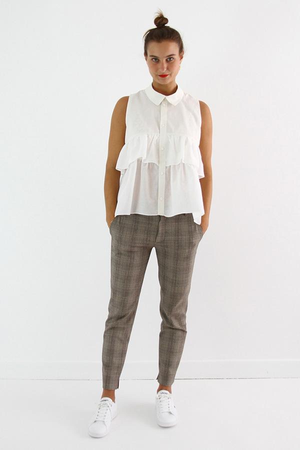 I AM Patterns - ladies sewing pattern - ruffled top - I AM Magdala