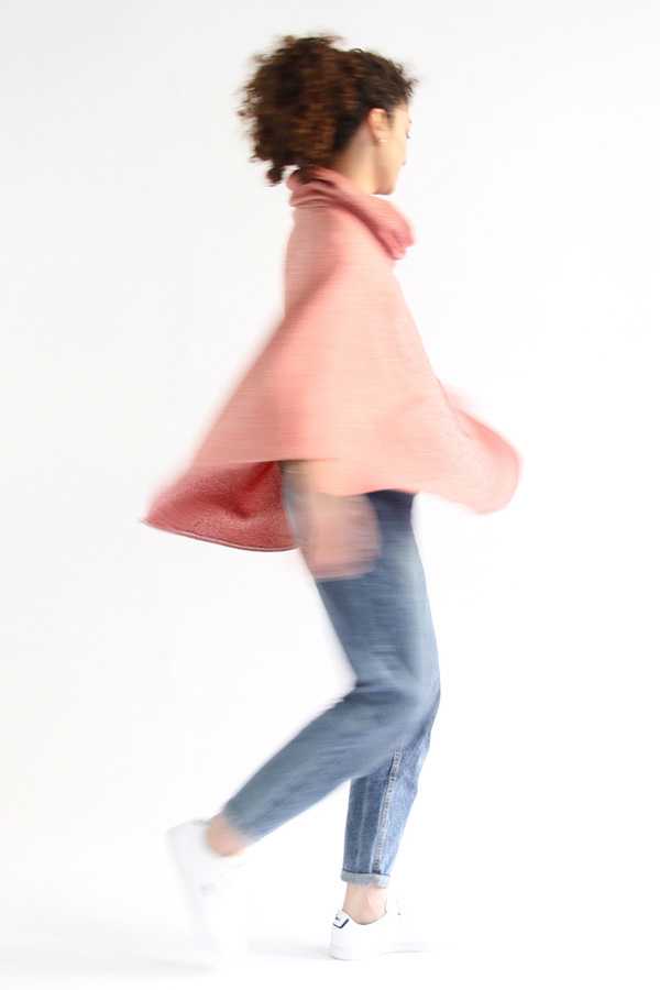 I AM Patterns - Sewing pattern - Mimosa cape - free patched pockets extension - swirl