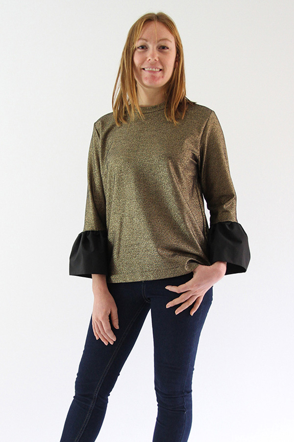 I AM Patterns Patricia Pull Sweat Shirt Manches Corolle