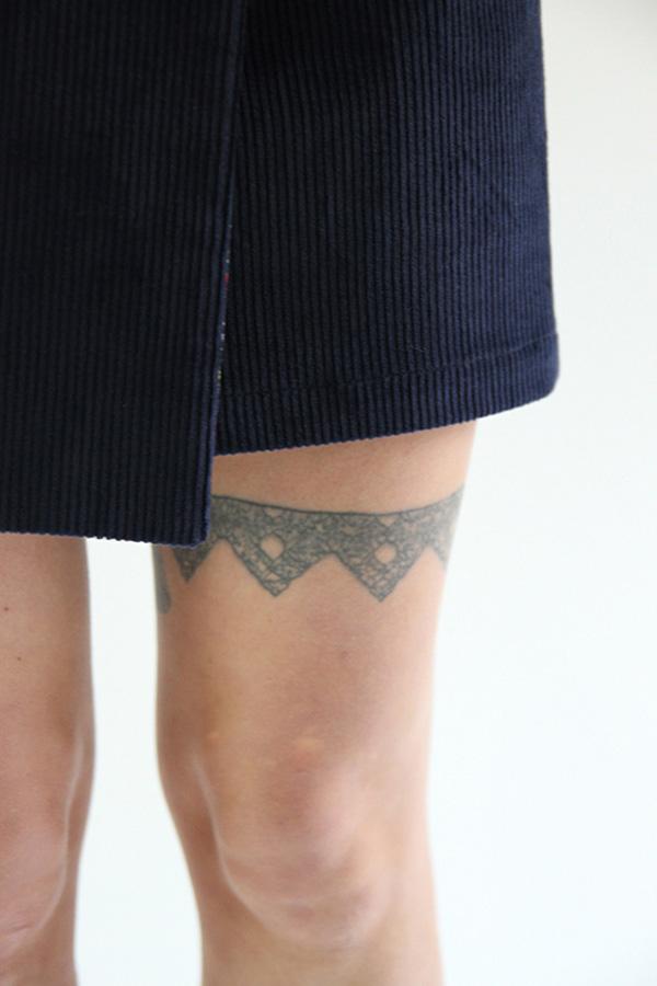 I AM Patterns Perrine Jupe Portefeuille Courte detail