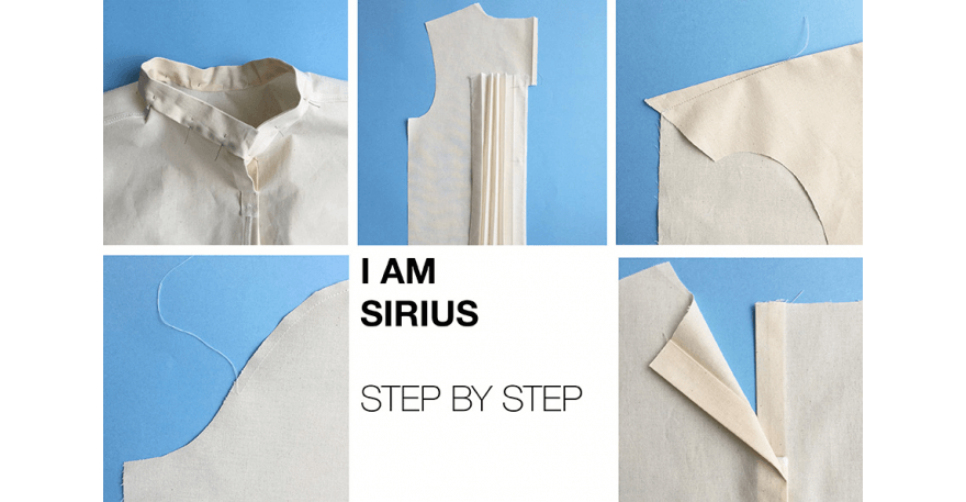 I AM Patterns - Sewing Pattern Sirius jumper tutorial - step-by-step