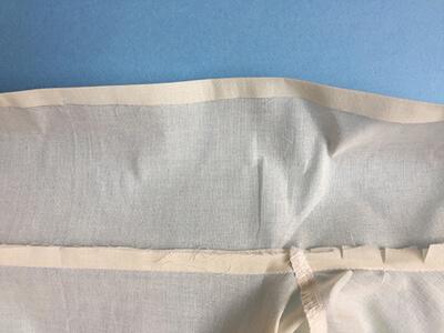 I AM Patterns sewing pattern Libellule women shirt dress coat how to sew step 10