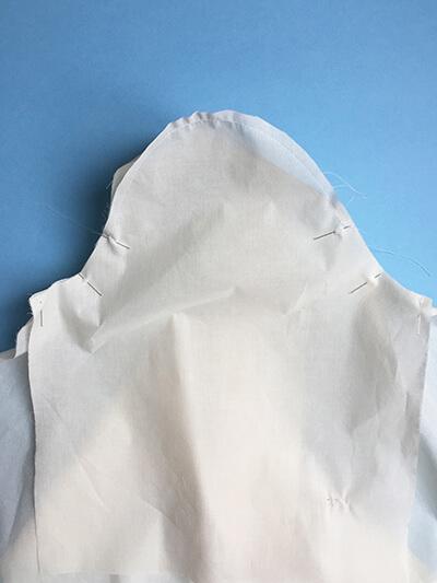 I AM Patterns pas-à-pas patron couture chemise robe Libellule Etape 14