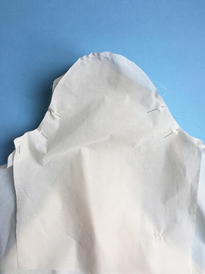 I AM Patterns sewing pattern Libellule women shirt dress coat how to sew step 14