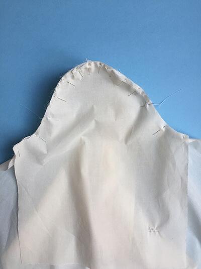 I AM Patterns pas-à-pas patron couture chemise robe Libellule Etape 15