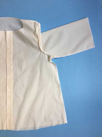 I AM Patterns sewing pattern Libellule women shirt dress coat how to sew step 17