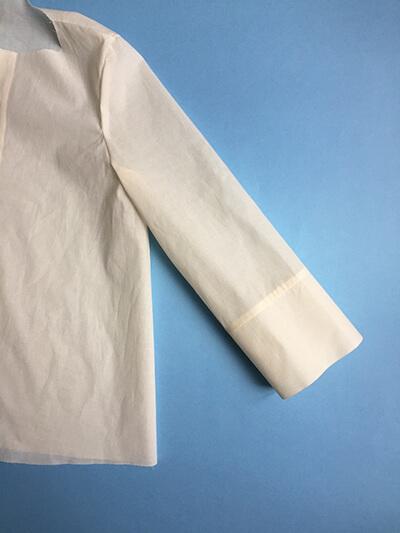 I AM Patterns sewing pattern Libellule women shirt dress coat how to sew step 22