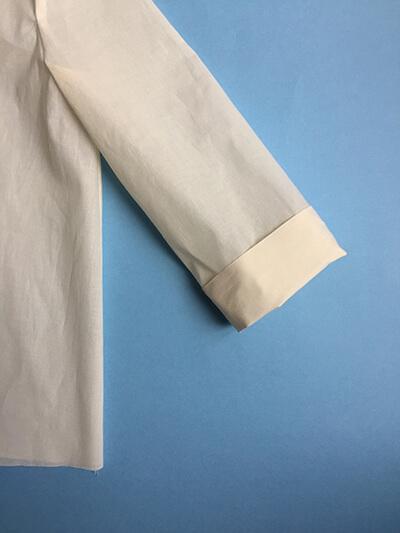I AM Patterns pas-à-pas patron couture chemise robe Libellule Etape 23