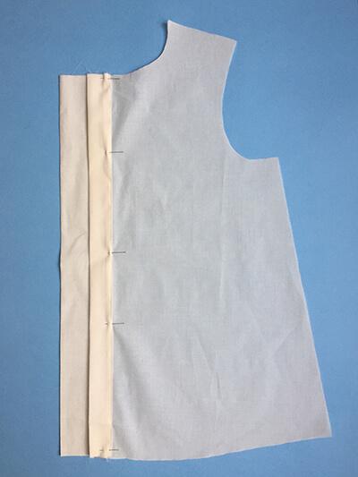 I AM Patterns sewing pattern Libellule women shirt dress coat how to sew step 2A