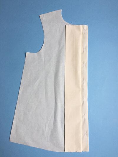 I AM Patterns sewing pattern Libellule women shirt dress coat how to sew step 3A