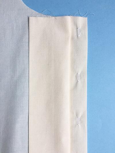 I AM Patterns pas-à-pas patron couture chemise robe Libellule 3B