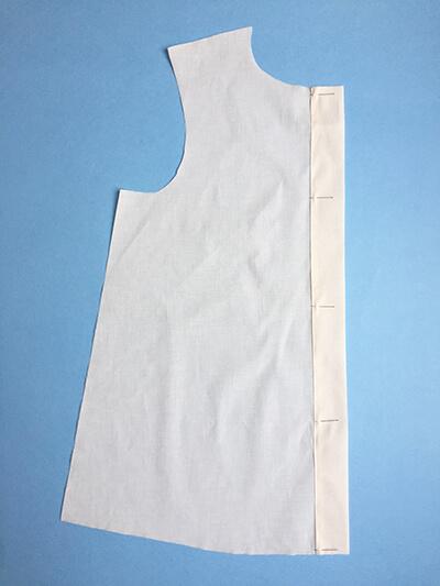 I AM Patterns pas-à-pas patron couture chemise robe Libellule Etape 5A