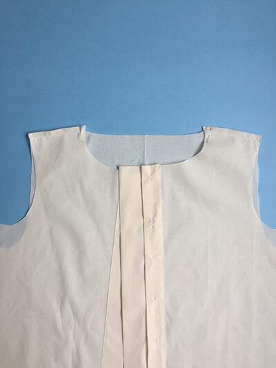 I AM Patterns pas-à-pas patron couture chemise robe Libellule Etape 6A
