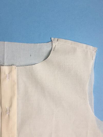 I AM Patterns pas-à-pas patron couture chemise robe Libellule Etape 6B