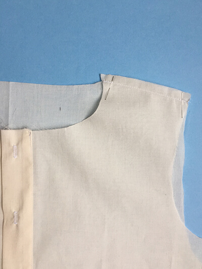 I AM Patterns sewing pattern Libellule women shirt dress coat how to sew step 6B