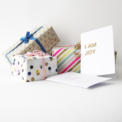 I AM Patterns - patron couture carte de voeux