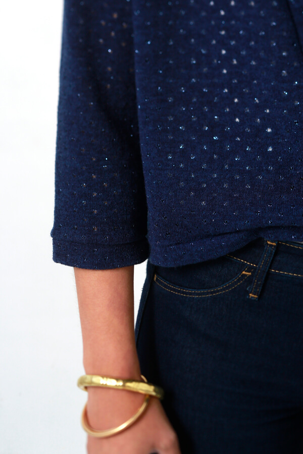 I AM Patterns patron couture femmes haut jersey Cupidon détail manche et ceinture