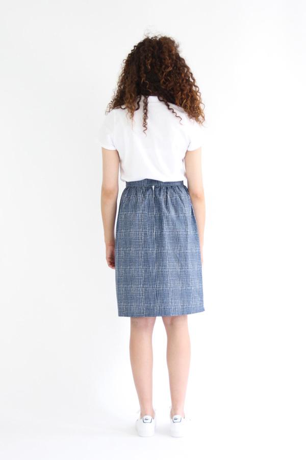 I AM Patterns - Sewing pattern Victoria skirt - back