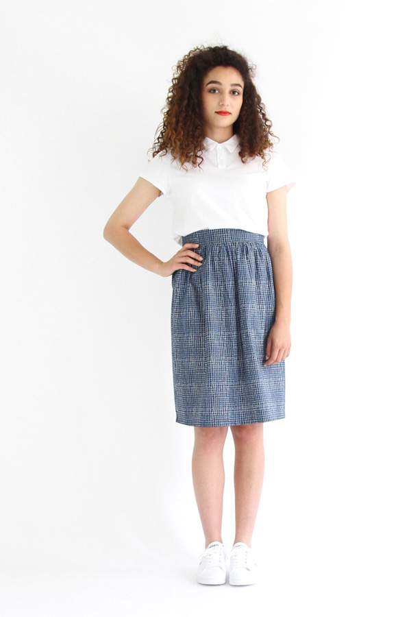 I AM Patterns - Sewing pattern Victoria skirt - front  2