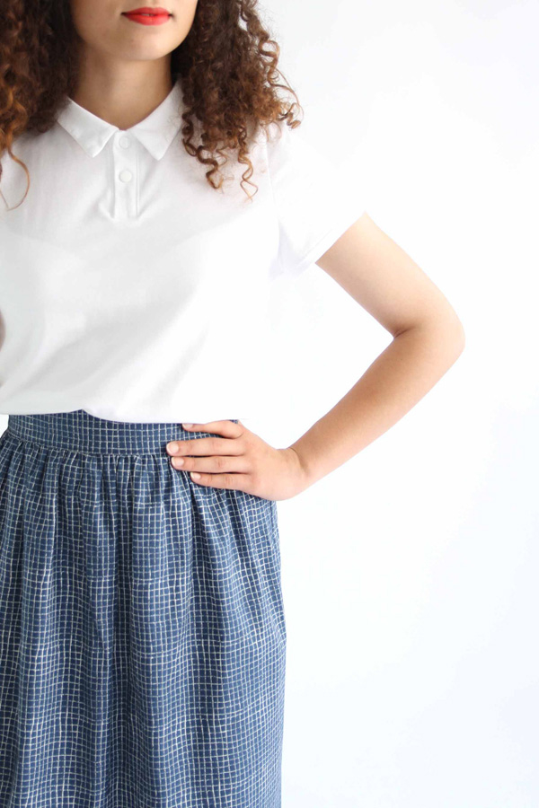 I AM Patterns - Sewing pattern Victoria skirt - detail waistband