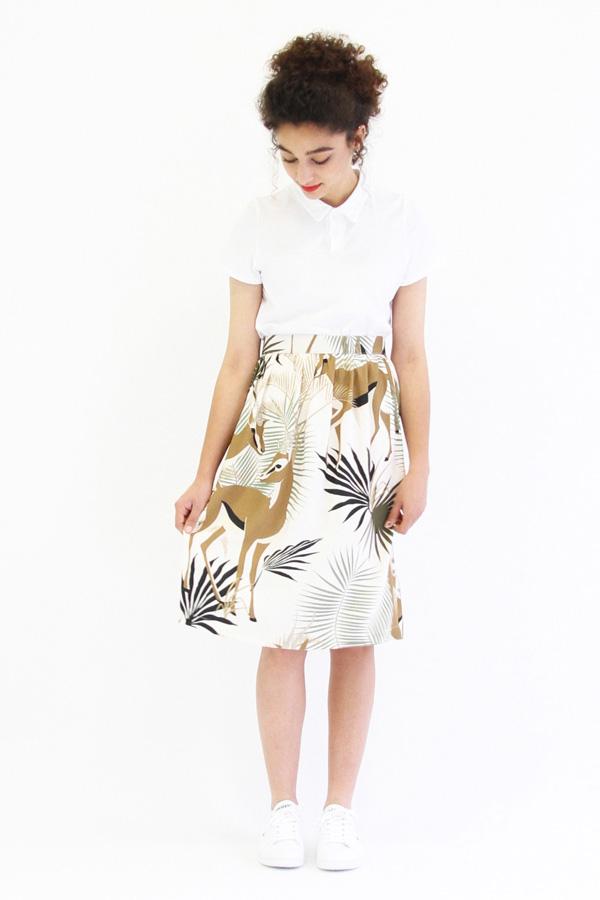 I AM Patterns Patron Couture Femmes Jupe Victoria Jungle