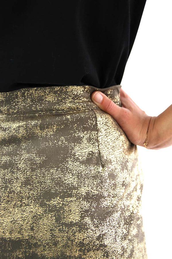 I AM Patterns - Sewing pattern Charlotte skirt - detail waistband