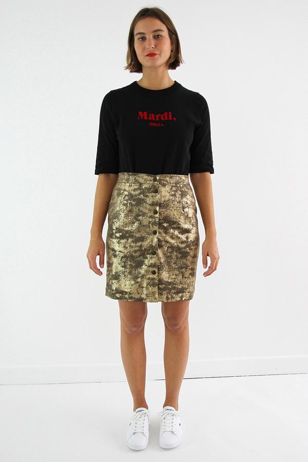I AM Patterns Patron Couture Femmes Jupe Charlotte Devant