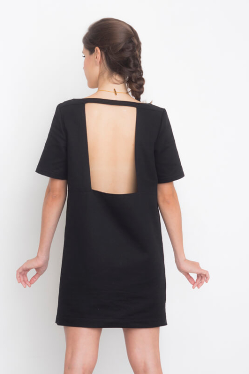 I AM Aphrodite - sewing pattern plain back dress - I AM Patterns