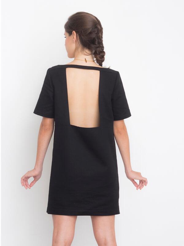 I AM Aphrodite - sewing pattern plain back dress - I AM Patterns