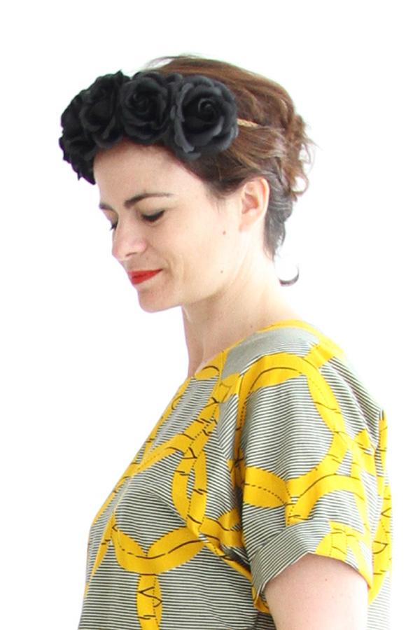 I AM Patterns Patron Couture Femmes Robe Cassiopee Manches Courtes Portrait