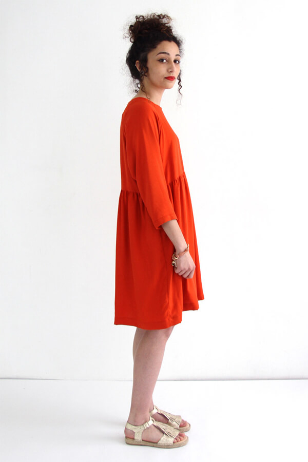 I AM Patterns - Sewing Pattern Cassiopee Dress Red