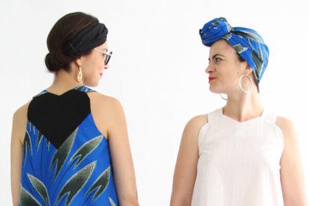 I AM Patterns - patron de couture blouse et robe Celeste Coeur dans le dos
