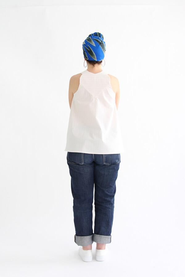 I AM Patterns - patron de couture blouse et robe Celeste Coeur dans le dos - dos haut