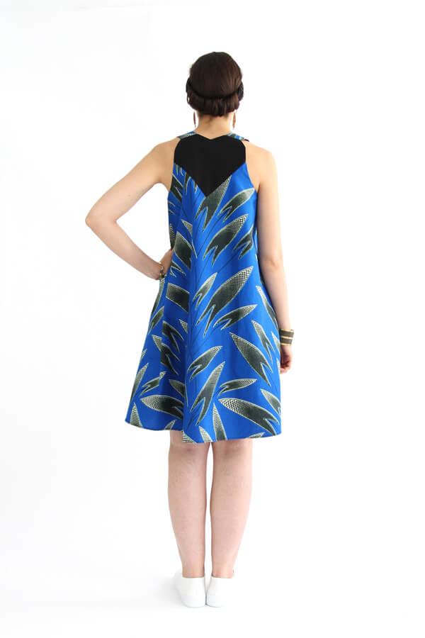 I AM Patterns - patron de couture blouse et robe Celeste Coeur dans le dos - dos robe