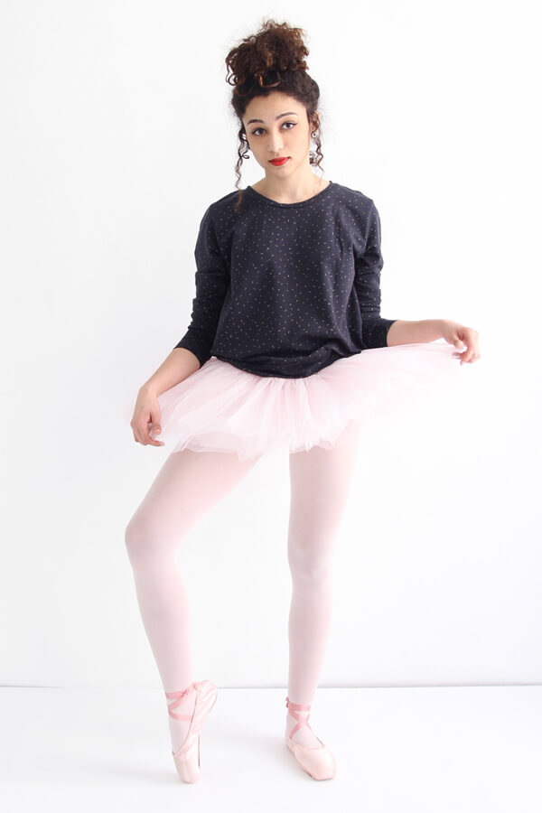 I AM Apollon sweatshirt sur tutu rose