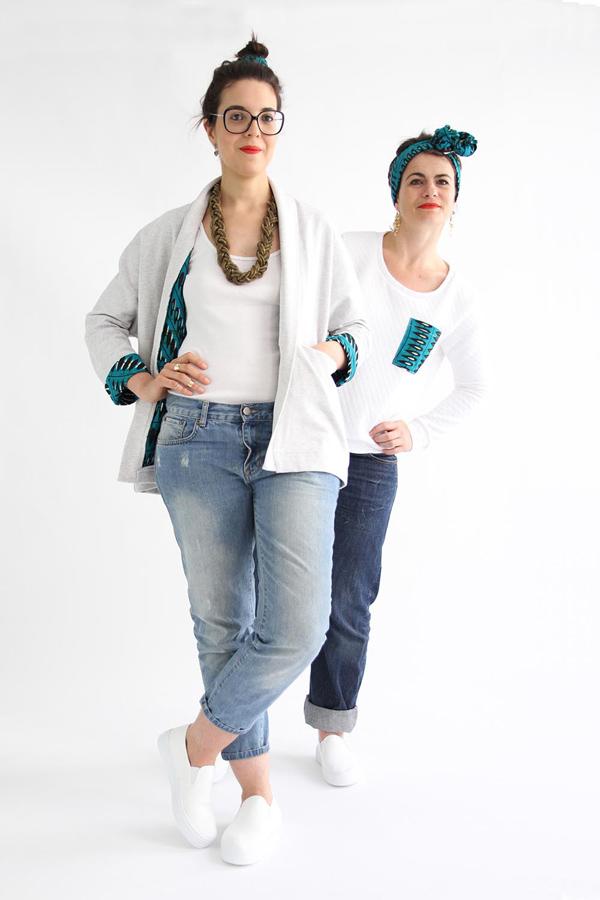 I AM Patterns - Sewing pattern free extension - Artemis jacket - Lining