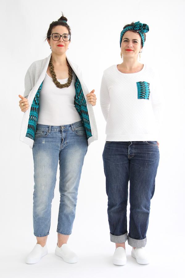 I AM Patterns Patron Couture Femmes Veste Artemis Doublure