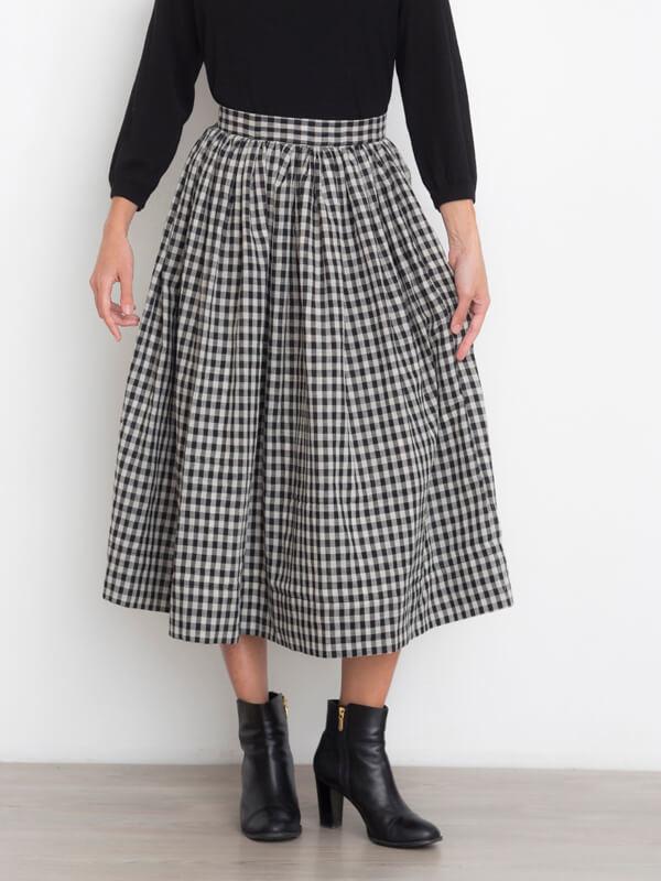 I AM Hestia - sewing pattern gathered skirt - I AM Patterns