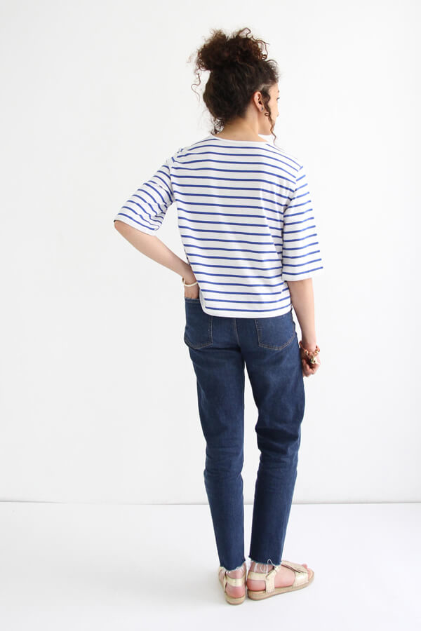 I AM Patterns - patron de couture - marnière T-Shirt robe Osiris - dos