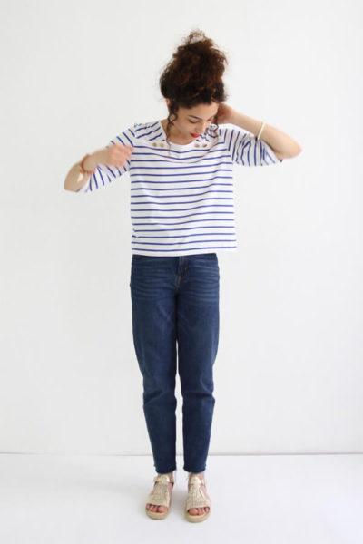 I AM Patterns - patron de couture - marnière T-Shirt robe Osiris - forme
